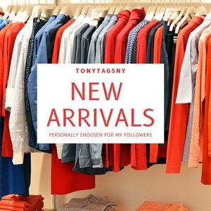 New Arrivals listed here for 14 days